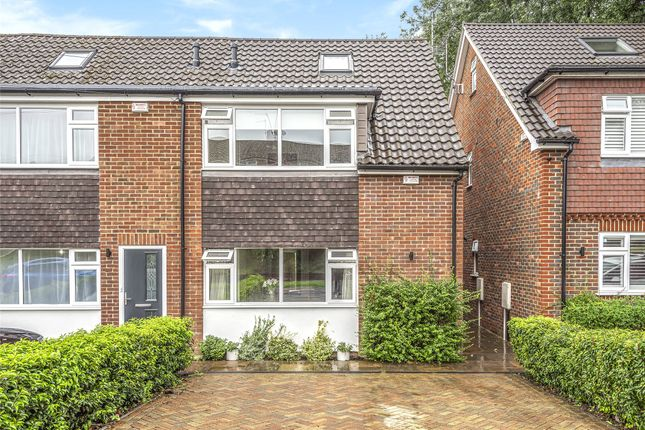 Thumbnail End terrace house for sale in Robyns Way, Sevenoaks, Kent