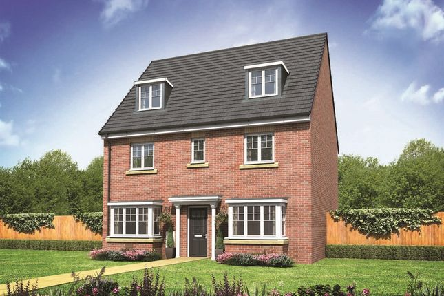 "Thumbnail Detached house for sale in ""The Regent"" at Ostrich Street, Stanway, Colchester"
