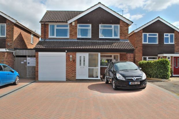 Thumbnail Detached house for sale in Lime Grove, Bugbrooke, Northampton