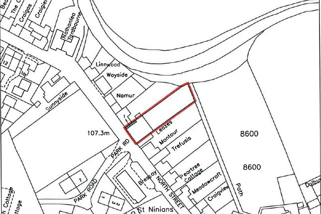 Thumbnail Land for sale in North Street, Moniaive