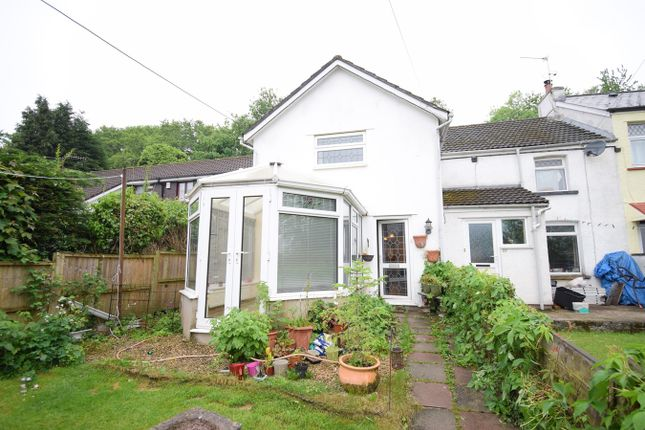 Thumbnail End terrace house for sale in Wern Road, Sebastopol, Pontypool