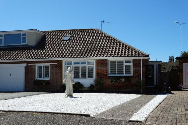 Thumbnail Semi-detached house for sale in Gill Way, Selsey, Chichester