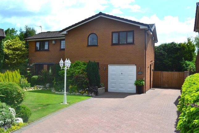 Thumbnail Detached house for sale in Crombouke Drive, Leigh