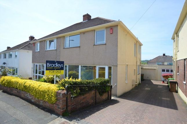 Thumbnail Semi-detached house for sale in St. Margarets Road, Plymouth, Devon