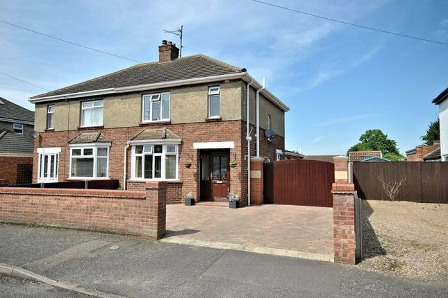 Thumbnail Semi-detached house for sale in Kensington Road, King's Lynn