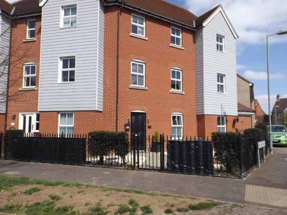 Thumbnail Flat for sale in William Harris Way, Colchester