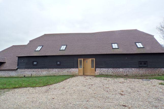 Thumbnail Barn conversion for sale in Bower Lane, Eynsford
