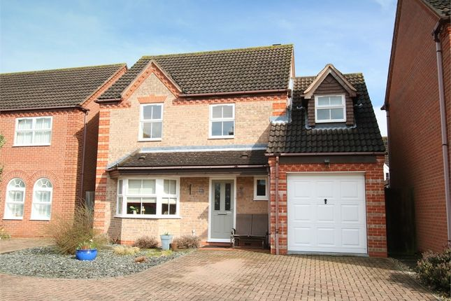 Thumbnail Detached house for sale in Orchard Close, Eaton Ford, St. Neots