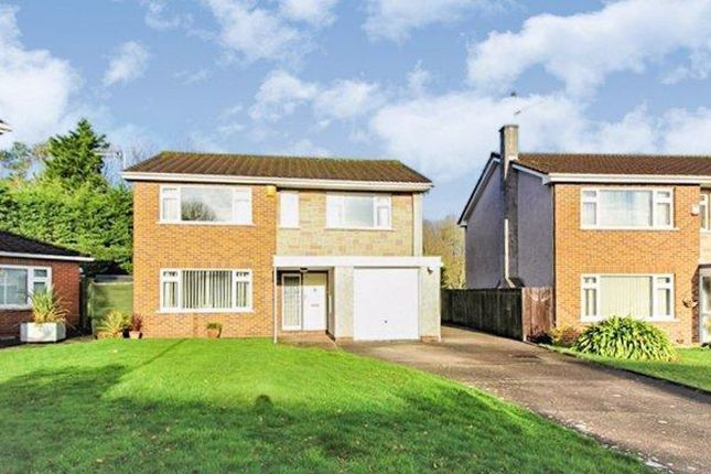 Thumbnail Detached house for sale in Melville Avenue, St. Mellons, Cardiff