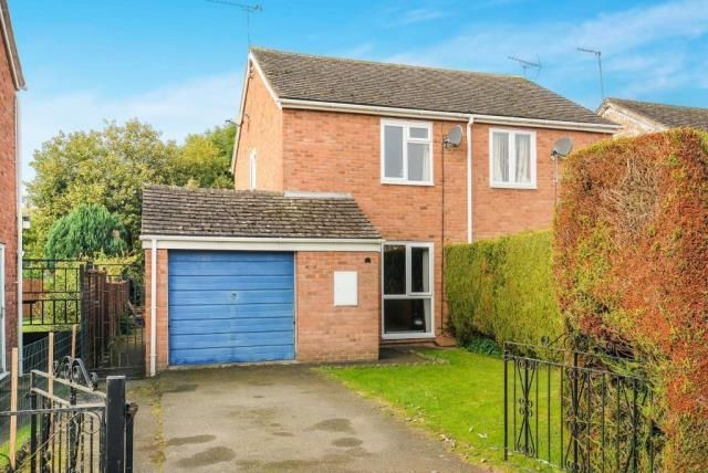 Thumbnail Semi-detached house for sale in Leominster, Herefordshire