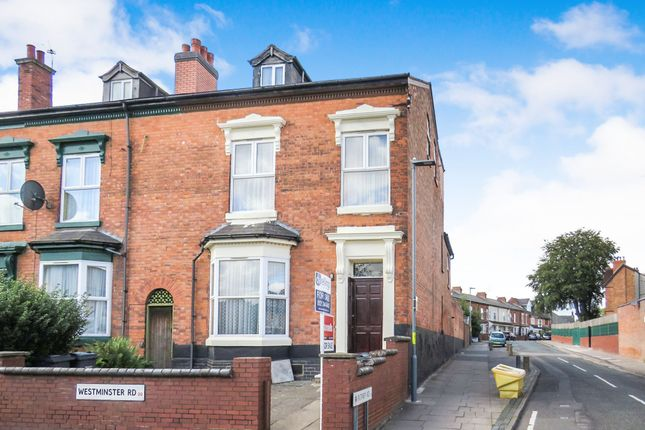 Thumbnail Terraced house for sale in Westminster Road, Handsworth, Birmingham