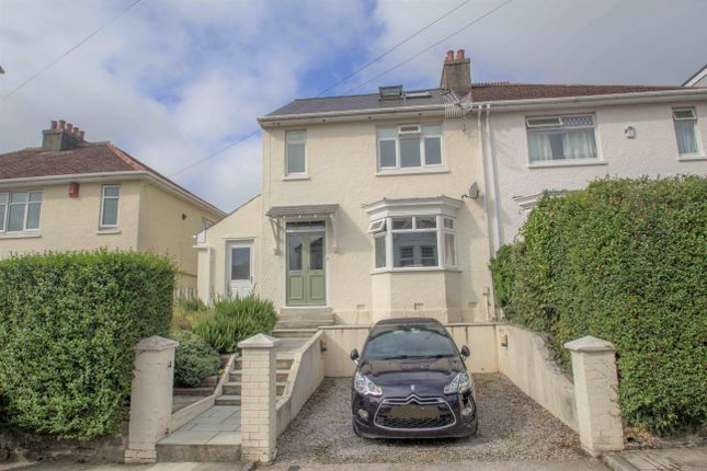 Thumbnail Semi-detached house for sale in Briar Road, Hartley, Plymouth
