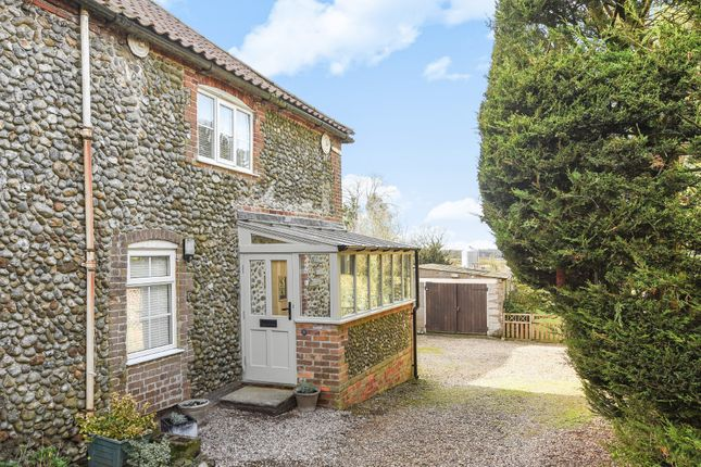 Thumbnail Cottage for sale in The Street, Hempstead, Holt