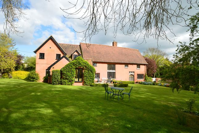 Thumbnail Detached house for sale in Hundon, Sudbury, Suffolk