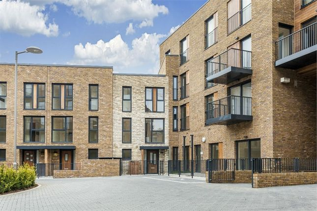 Thumbnail End terrace house for sale in Mary Rose Square, Marine Wharf, London