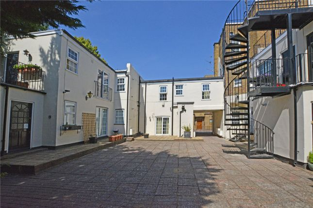 Courtyard of Frobisher Court, 10 Old Woolwich Road, Greenwich, London SE10