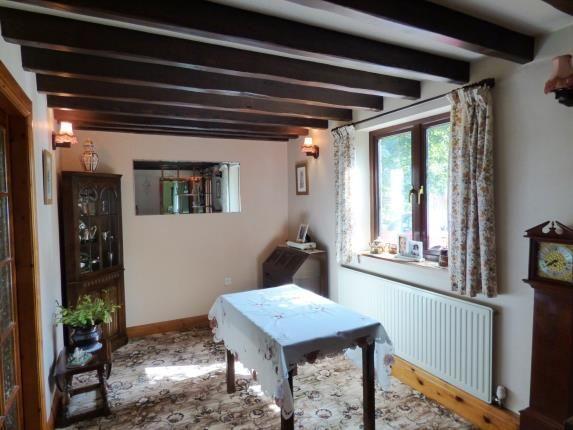 Dining Room of Hernstone Lane, Peak Forest, Buxton, Derbyshire SK17