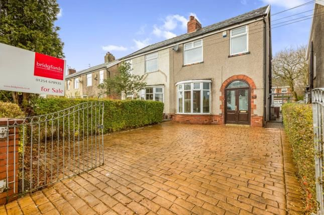 Thumbnail Semi-detached house for sale in Shadsworth Road, Shadsworth, Blackburn, Lancashire