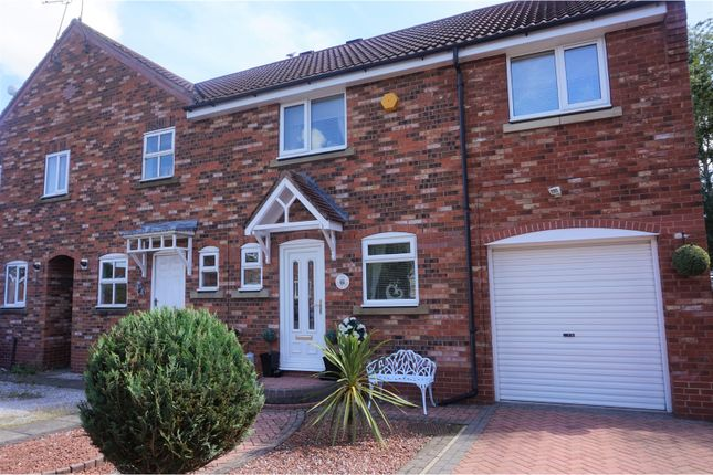 Thumbnail End terrace house for sale in Gillyon Close, Beverley