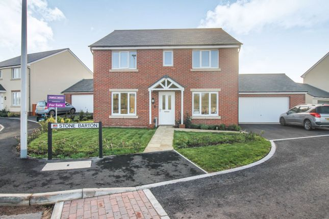 Thumbnail Detached house for sale in Stone Barton, Exeter