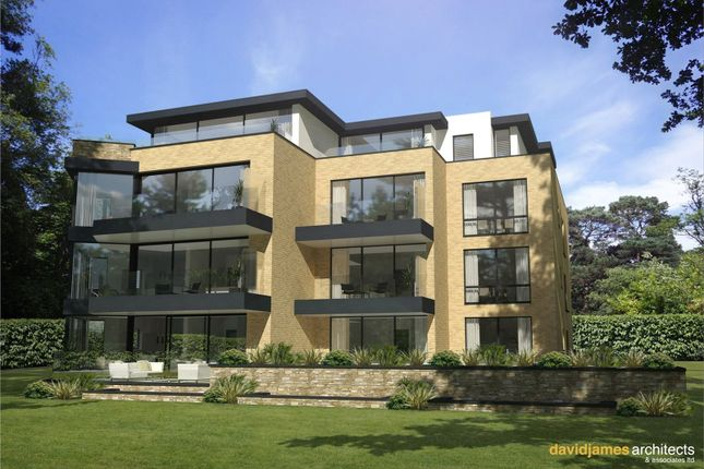 Thumbnail Flat for sale in Balcombe Breeze, 2A Balcombe Road, Branksome Park, Poole