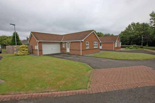 Thumbnail Detached bungalow for sale in Rivermede, Ponteland, Newcastle Upon Tyne
