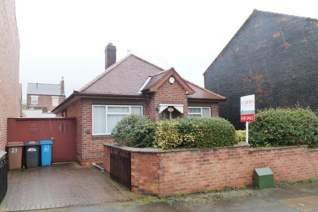 Thumbnail Detached bungalow for sale in Wade Avenue, Ilkeston