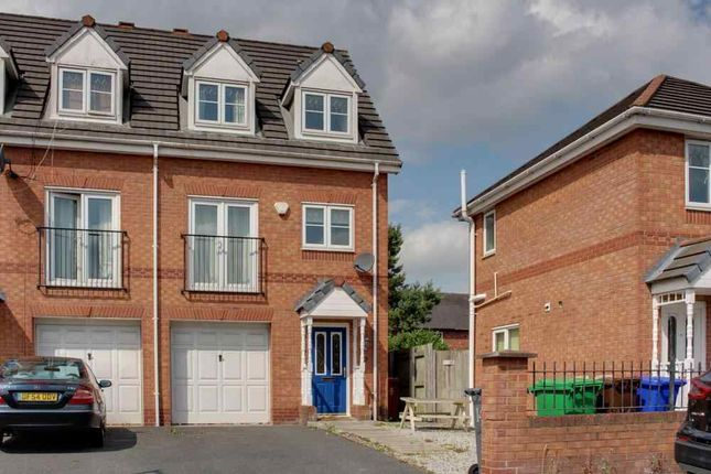 Thumbnail End terrace house to rent in Livingston Avenue, Wythenshawe, Manchester