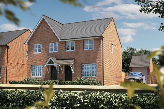 Thumbnail Semi-detached house for sale in The Josselyns, Trimley St. Mary, Felixstowe