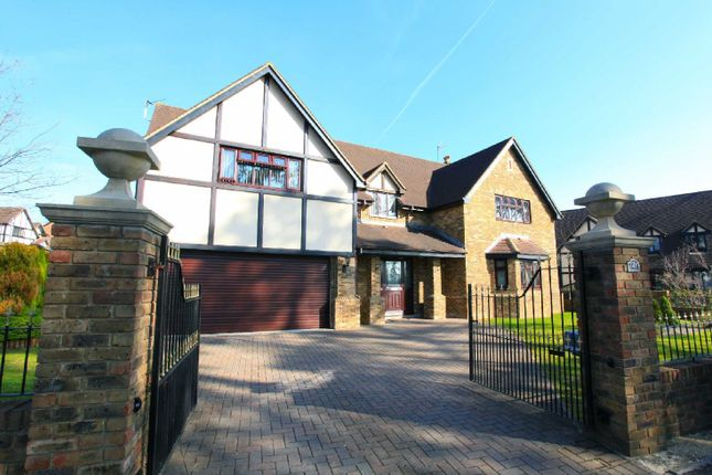 Thumbnail Detached house for sale in Vaendre Lane, Old St. Mellons, Cardiff