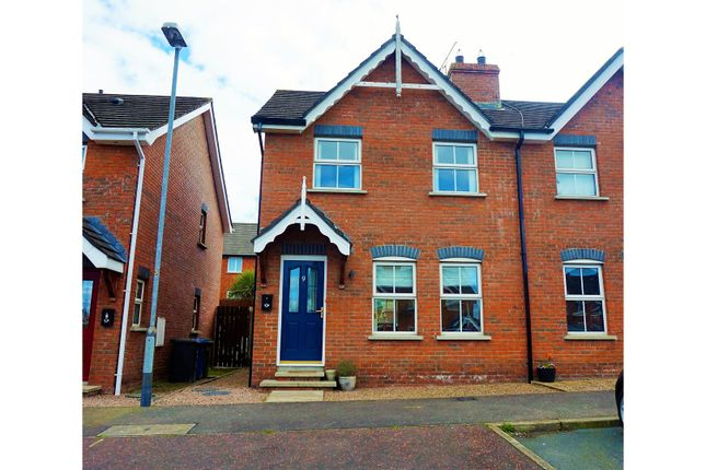 Thumbnail Town house for sale in Ardvanagh Brae, Newtownards