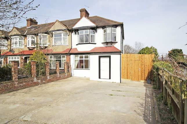 Thumbnail End terrace house for sale in Marvels Lane, London