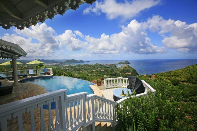 Thumbnail Villa for sale in Anantha Asmani, Mount Du Cap, Cap Estate, St Lucia