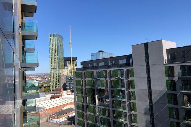 Balcony View of Bury Street, Salford M3