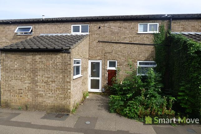Thumbnail Terraced house to rent in Outfield, Bretton, Peterborough, Cambridgeshire.
