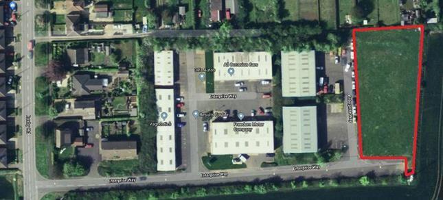 Land to let in Land, Roxby Road Industrial Estate, Enterprise Way, Winterton