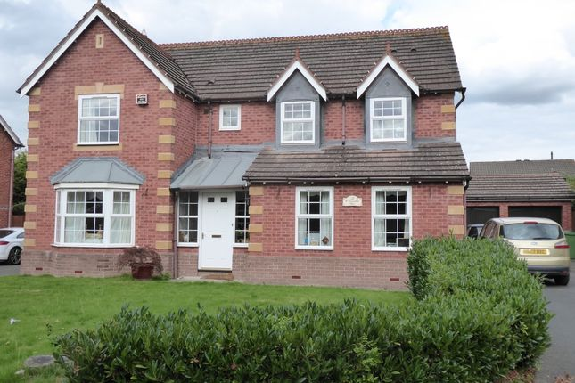 Thumbnail Detached house to rent in Cavendish Close, Bicton Heath, Shrewsbury