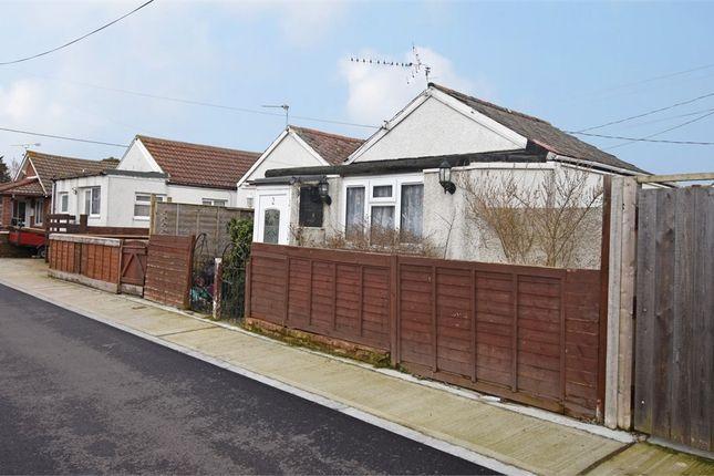 Thumbnail Detached bungalow for sale in Singer Avenue, Jaywick, Clacton-On-Sea, Essex
