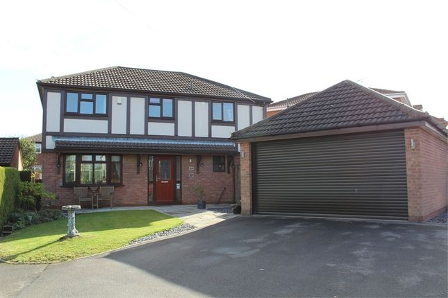 Thumbnail Detached house for sale in Woodlea Avenue, Lutterworth