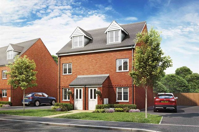 """Thumbnail Semi-detached house for sale in """"Souter"""" at Haverhill Road, Little Wratting, Haverhill"""