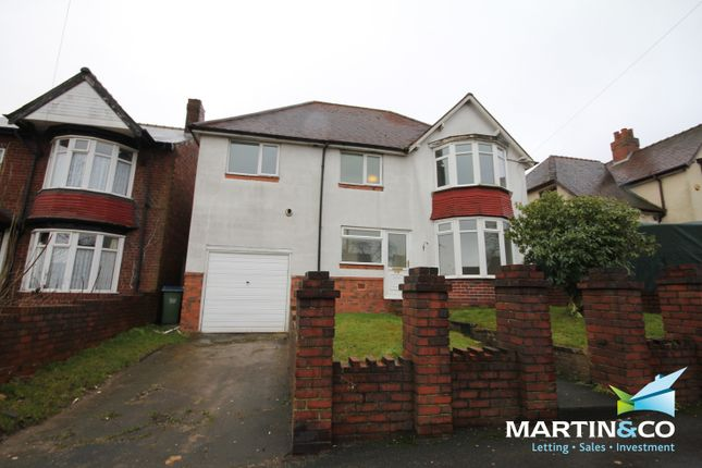 Thumbnail Detached house to rent in Bleakhouse Road, Oldbury