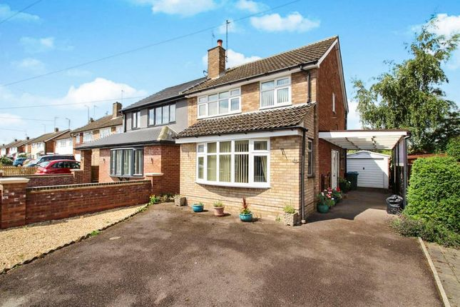 Thumbnail Semi-detached house for sale in Welbeck Avenue, Bedgrove, Aylesbury
