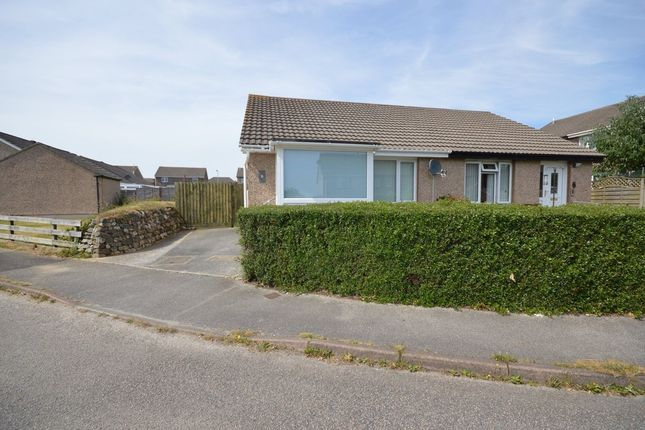 Thumbnail Detached bungalow to rent in Glenthorne Road, Threemilestone, Truro