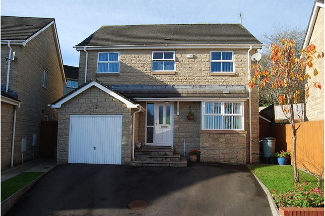 Thumbnail Detached house for sale in Parc Derllwyn, Tondu, Bridgend