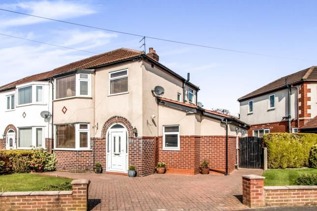 Thumbnail Semi-detached house for sale in Southvale Crescent, Timperley, Altrincham, Greater Manchester