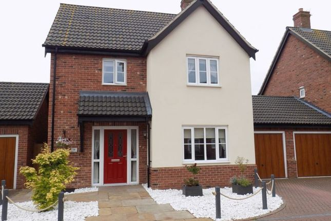 Thumbnail Detached house for sale in Neptune Close, Bradwell, Great Yarmouth