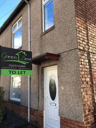 Thumbnail Terraced house to rent in Columbia Terrace, Blyth