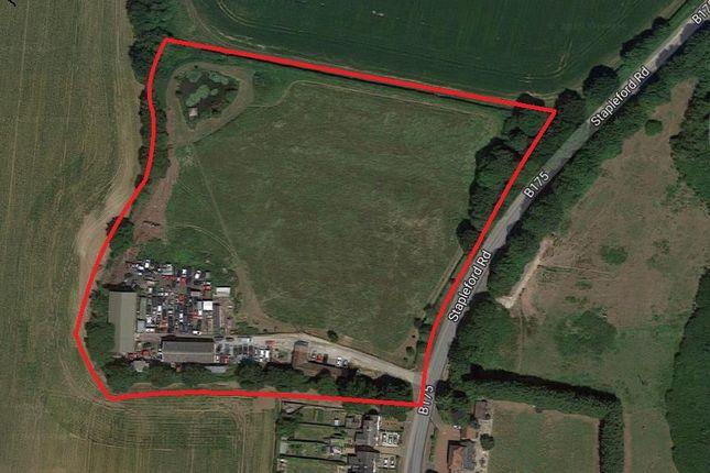 Thumbnail Land for sale in Stapleford Road, Stapleford Abbotts, Romford