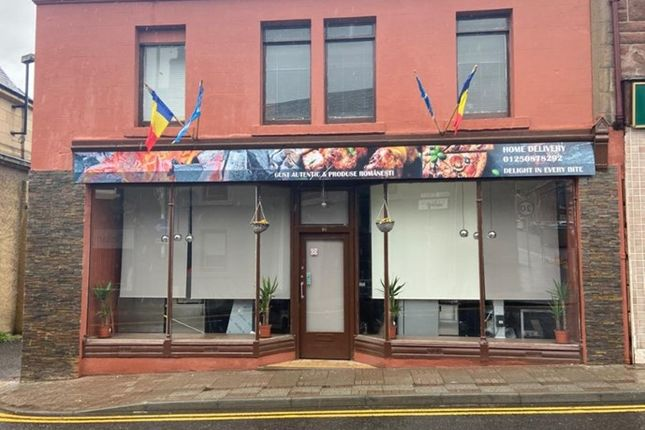 Thumbnail Restaurant/cafe for sale in High Street, Blairgowrie