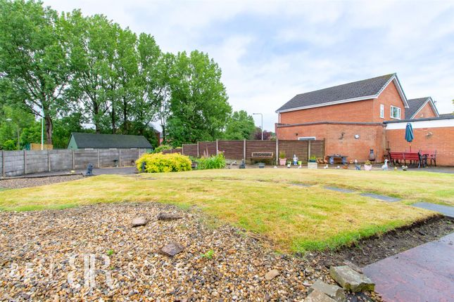 Garden of Melrose Way, Chorley PR7